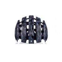 Carrera Foldable Helmet Black Shiny Camo